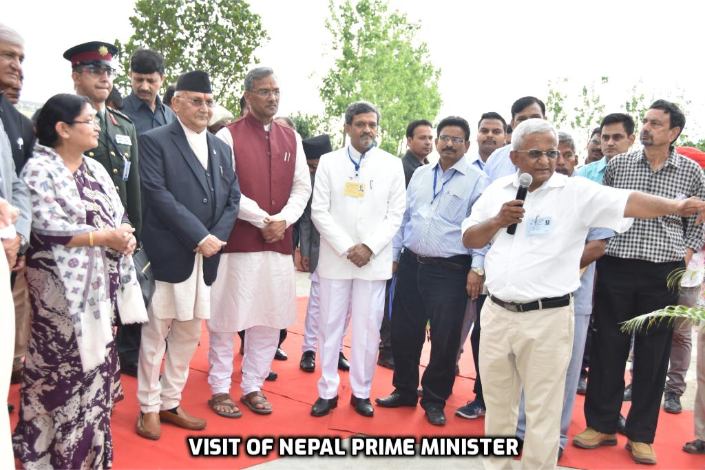 Visit of Nepal Prime Minister and Uttarakhand Chief Minister at IFS